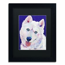 """""""Whitey"""" by Pat Saunders-White Framed Painting Print"""