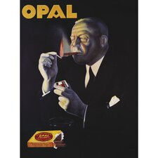 """""""Opal - Extra Large Artwork"""" Vintage Advertisement on Wrapped Canvas"""
