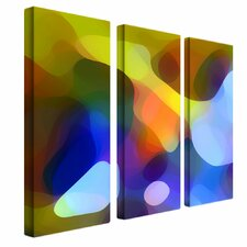 """Dappled Light and Shade"" by Amy Vangsgard Painting Print 3 Panel Art Set"