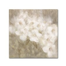 """Wild Flowers II"" by Li Bo Painting Print on Wrapped Canvas"