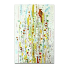 """""""Pause"""" by Sylvie Demers Painting Print on Wrapped Canvas"""