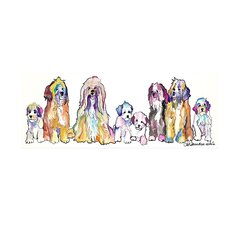 """""""The Gang"""" by Pat Saunders-White Painting Print on Wrapped Canvas"""
