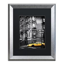 """""""NYC Yellow Cab"""" by Philippe Hugonnard Framed Photographic Print"""