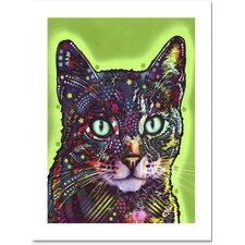 """""""Watchful Cat"""" by Dean Russo Graphic Art on Archival Paper"""