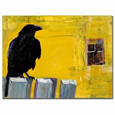"""""""Watching"""" by Pat Saunders-White Framed Painting Print on Wrapped Canvas"""
