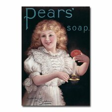 """""""Pears Soap"""" Vintage Advertisement on Canvas"""
