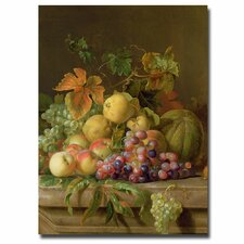 """""""A Fruit Still Life"""" by Jacob Bogdany Painting Print on Canvas"""