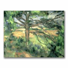 """""""The Large Pine"""" by Paul Cezanne Painting Print on Canvas"""