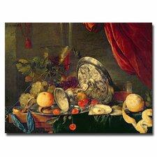 """Still Life"" by Jan Davidsz. de Heem Painting Print on Canvas"