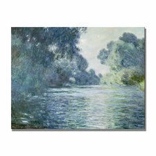 """Branch of the Seine Near Giverny"" by Claude Monet Painting Print"