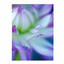 'The Color Purple' by Kathy Yates Wrapped Photographic Print on Canvas