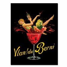"""""""Vlan du Berni"""" Framed Vintage Advertisement on Wrapped Canvas"""