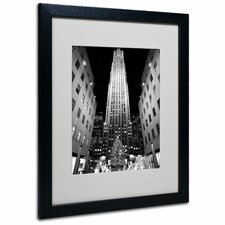 """Rockefeller Night"" by Yale Gurney Framed Photographic Print"