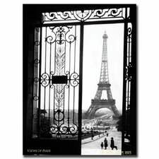 """Views of Paris"" by Sally Gall Photographic Print on Canvas"