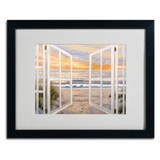 """Elongated Window"" by Joval Framed Painting Print"
