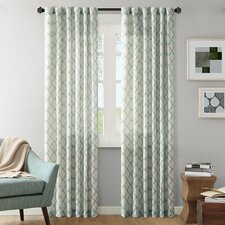 Nakita Linen Single Curtain Panel