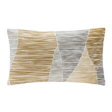 Bengal Embroidered Cotton Lumbar Pillow