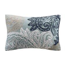 Kiran Embroidered Cotton Lumbar Pillow