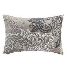 Kiran Embroidered Cotton Lumbar Throw Pillow