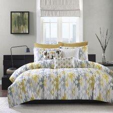 Sierra 3 Piece Comforter Set in Yellow