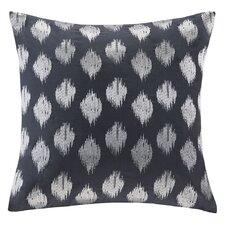 Nadia Dot Embroidered Cotton Throw Pillow