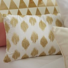 Nadia Dot Embroidered Cotton Throw Pillow