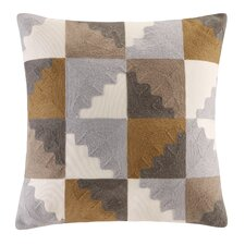 Neve Embroidered Throw Pillow