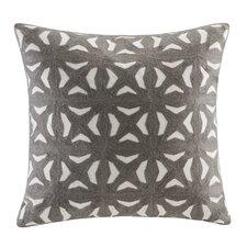 Nova Embroidered Throw Pillow