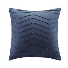 Naomi Embroidered Cotton Throw Pillow