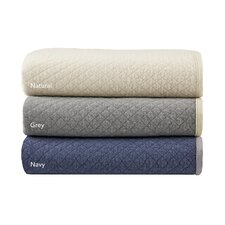 Shelby Quilted Jersey Knit Throw