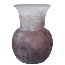 Frosted Flower Vase