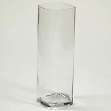 Square Rounded Corner Glass Vase