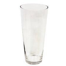 Flared Glass Vase