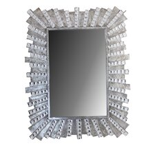 Accent Mirror with Stones