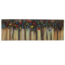 Live Colors Bounce Oil Painting on Canvas