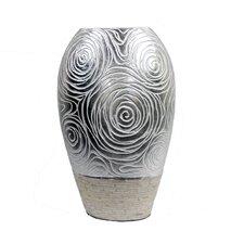 Mop on Ceramic Vase