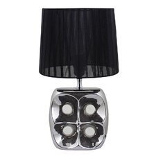 """7.28"""" H Table Lamp with Empire Shade"""