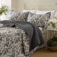 Amberley Reversible Coverlet Set