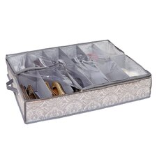 Non Woven 12 Pair Under the Bed Shoe Box