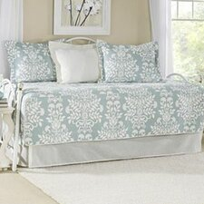 Rowland Breeze 5 Piece Daybed Quilt Set in Blue