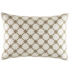 Almeida Embroidered Breakfast Lumbar Pillow