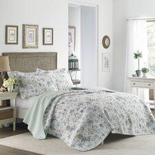 Breezy Floral Quilt Set