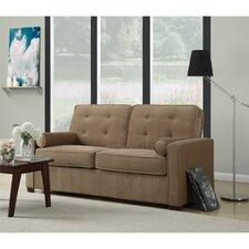 Dorel Living Monroe Button Tufted Sofa