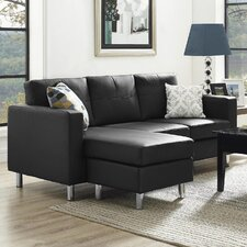 Small Spaces Configurable Sofa Sectional