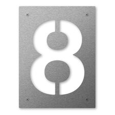 Schild Cut Number