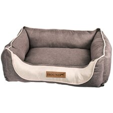Hound Comfort Pet Bed in Brown and Tan