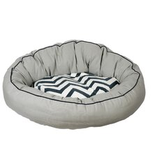 Snoooz Comfort Donut Pet Bed in Grey