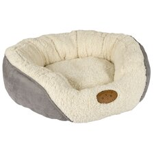 Banbury and Co Luxury Cosy Dog Bed in White