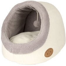 Banbury and Co Luxury Cosy Cat Bed in White