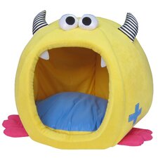 Fashion Monster Chunky Igloo Pet Bed in Yellow